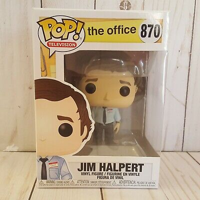 Funko Pop Television The Office Jim Halpert 870 Vinyl Figure Toy Collectible