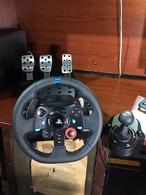 LOGITECH G29 DRIVING Force Racing Wheel and Pedals for PS3
