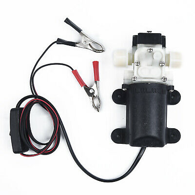 12 Volt Pump Fuel Transfer Engine Oil Diesel Gas Car Tractor Practical