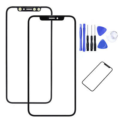 Front Outer Glass Touch Screen Glass Lens For iPhone X 10 Glass screen Repair