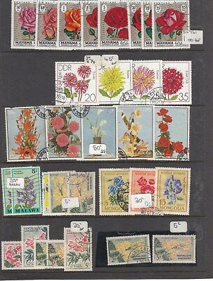 Page of Flowers/Plants ect Will combine Postage ($1.00) lot 9