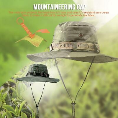 Outdoor Waterproof Foldable Wide Brim Bucket Sun Hat / UV Protection Boonie cap