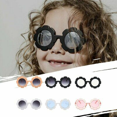 Sun Flower Children Universal Anti-uv Concave Shape Personalized Sunglasses J1
