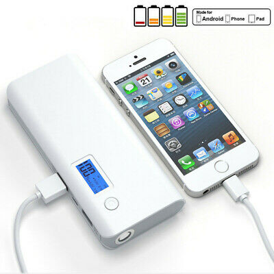 Portable 500000mAh Power Bank 2USB Battery Charger For iPhone SAMSUNG Tablet