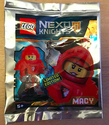 Lego Figurine Polybag Limited Minifigure Nexo Knights Macy Le Chevalier Rouge