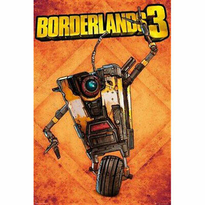 Borderlands 3 - Claptrap POSTER 61x91.5cm NEW