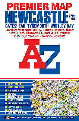 Newcastle Upon Tyne Premier Map (Sheet map, folded book, 2015)
