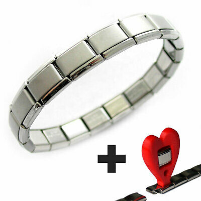 18 Link Classic Starter Bracelet WITH FREE TOOL! Fits Nomination Classic 9mm