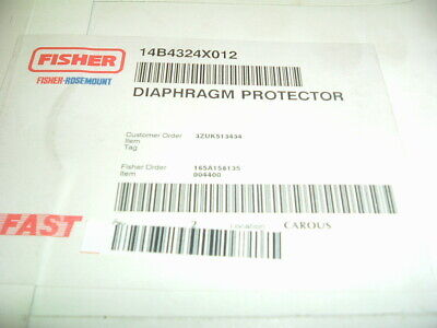 Fisher Rosemount....627...14B4324X012...... Diaphragm Protector  New....packaged