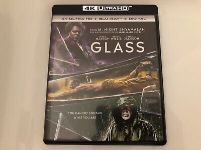 Glass (2019) 4K + Blu Ray + Digital Hd / Bruce Willis / James Mcavoy /