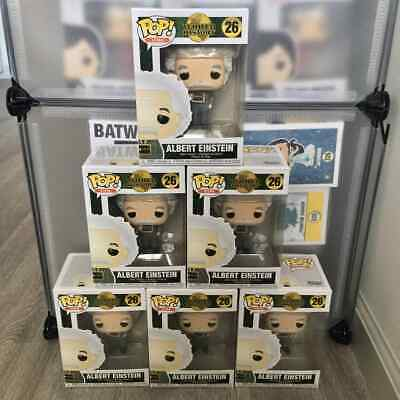 Funko Pop! Albert Einstein Vinyl Figure - IN STOCK