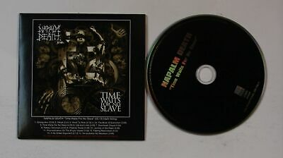 Napalm Death Time Waits For No Slave EU Adv Cardcover CD 2009 Grindcore