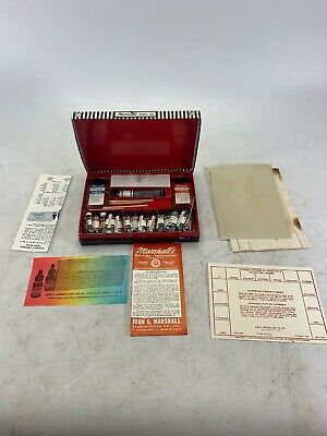 Vintage Marshall's Photo-Oil Colors Paint Set Complete in Hinged Box