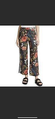 Mother Floral Quickie Greaser Ankle Pants