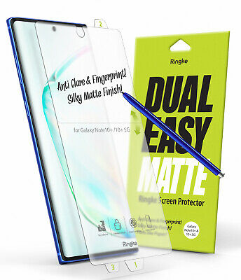 For Samsung Galaxy Note 10 Plus Ringke [Dual Easy Cover Matte] Screen Protector