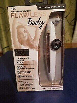 Finishing Touch FLAWLESS Body  Rechargeable Ladies Shaver & trimmer