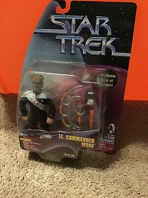 Star Trek Playmates Figure Target Exclusive Lt Commander Worf Starfleet Command