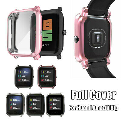 Protective Case Screen Protectors TPU Plating for Huami Amazfit Bip Youth Lite