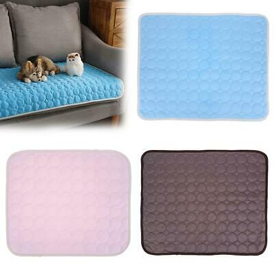 Summer Pet Dog Cooling Mat Ice Blanket for Puppy Cats Sofa Pad Bedding Mats #JT1