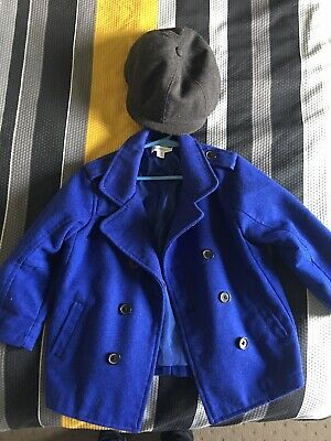 Pumkin Patch Coat Size 3 And Hat