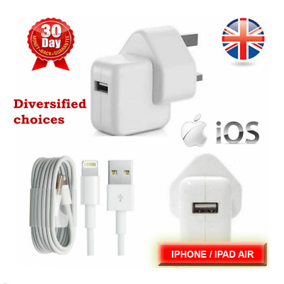 New Main Power Charger Adapter USB Cable For iPad Air iPhone Fast Charging