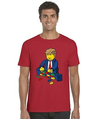Trump Build A Wall Donald Trump Inspired Adults T-Shirt Tee Sizes S-XXL