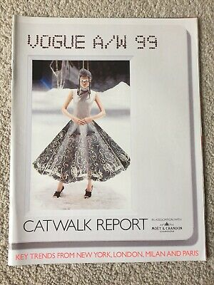 Vogue a/w 1999 Catwalk Report with Moet & Chandon
