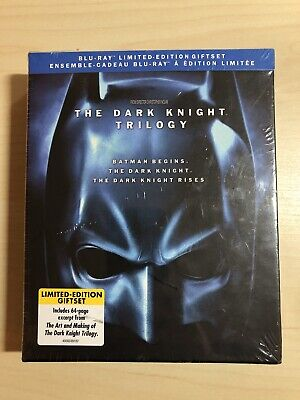The Dark Knight Trilogy Limited Edition (Blu-ray Disc, 5-Disc Set, 2012) New