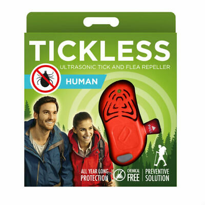 TickLess HUMAN - Orange *** Bestpreis von Flixzoo ***