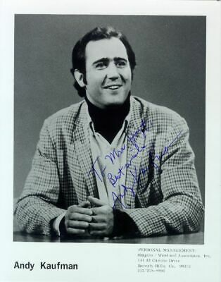 Andy Kaufman - Autographed Inscribed Photograph