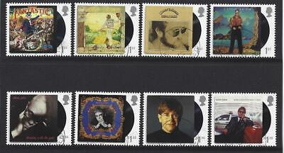 Great Britain 2019 Elton John Set Of 8 Stamps  Fine Used