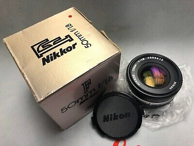 Nikon Nikkor 50mm f1.8 pancake lens like new and tested