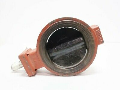 Demco 1615-1214319 Iron Wafer 6in Butterfly Valve