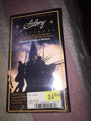 True Story of Glory Continues, The - Collectors Gift Set (VHS, 1991, 2-Tape NEW