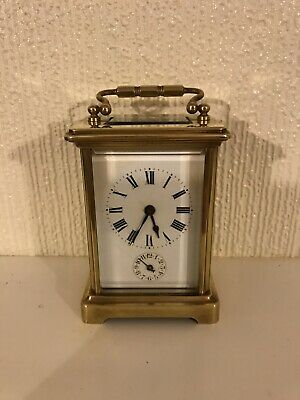 Stunning Carriage Clock With A Alarm On It
