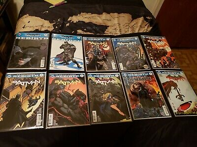 Batman Rebirth lot/set.Issues 1-70, all tie-ins included, 92 books, in Mylar!