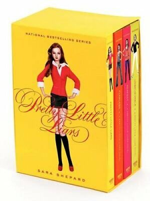 Pretty Little Liars 4-Book Collection by Sara Shepard 9780061801310 | Brand New