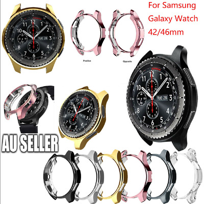 Electroplated TPU Watch Case Protector Cover for Samsung Galaxy Watch 42/46mm
