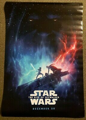 Star Wars The Rise Of Skywalker 27x40 D/S Movie Theater Poster Version B