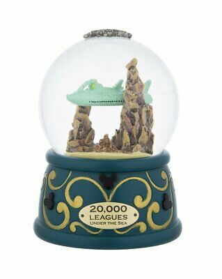 Disney Parks 20,000 Leagues Under the Sea Nautilaus Snow Globe Light Up