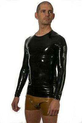 Long Sleeve Latex T shirt New Choice of Colours and Sizes Fetish Gummi Cosplay
