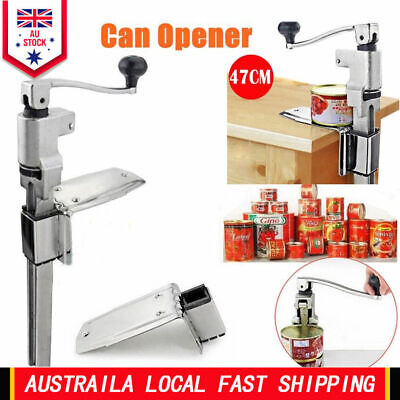 Commercial Kitchen Can Opener Restaurant Top Table Cast Steel Heavy Duty Larger