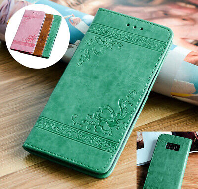 Case Cover For Samsung Galaxy S8 S9 Plus S7 Edge Leather Wallet Book Phone