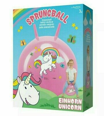UNICORN Sprungball Space Hopper Ball Bouncer Bouncy Jumping Ball For Kids