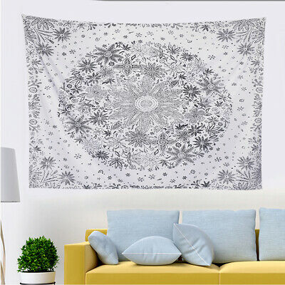Boho Indian Tapestry Wall Hanging Mandala Hippie Bedspread Throw Cover Blanket
