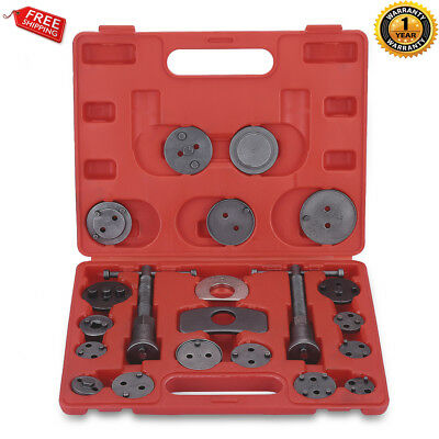 21 PCS Disc Brake Caliper Piston Pad Car Auto Wind Back Hand Tool Universal Kit