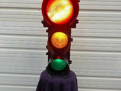 "12"" With Two 8""  Traffic Signal Stop Light"