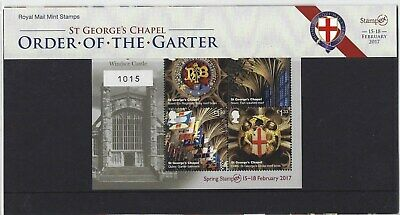 Great Britain 2017 Stampex Limited Edition Presentation Pack N0.1015