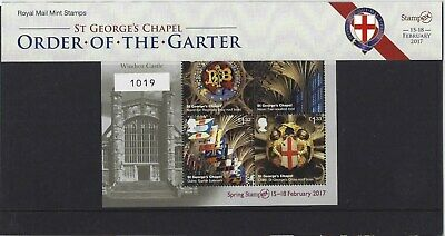Great Britain 2017 Stampex Limited Edition Presentation Pack N0.1019