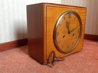 Genuine Collectable Smiths 8 Day Mantle Clock